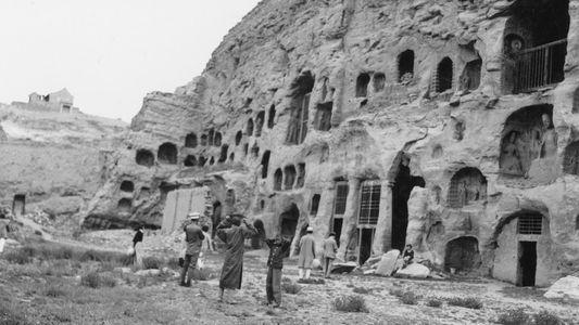 Galerie   Historische Aufnahmen von Höhlenwohnungen aus aller Welt