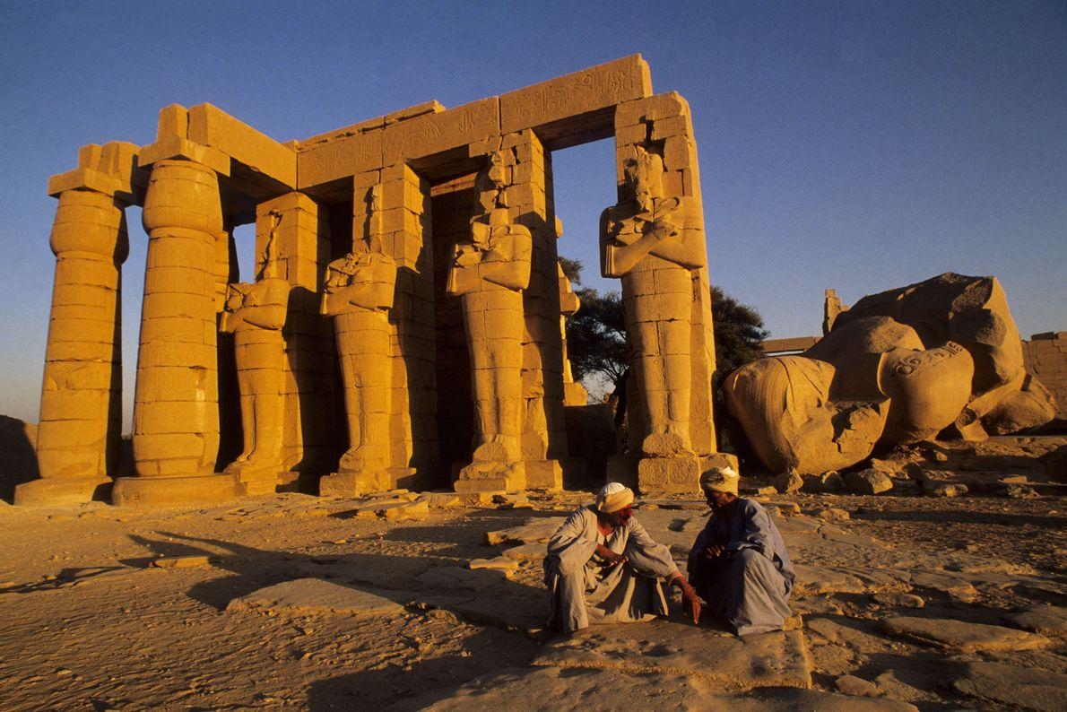 Vor etwa 4.000 Jahren fand Luxor bzw. Theben seinen Ursprung als kleines Handelszentrum.