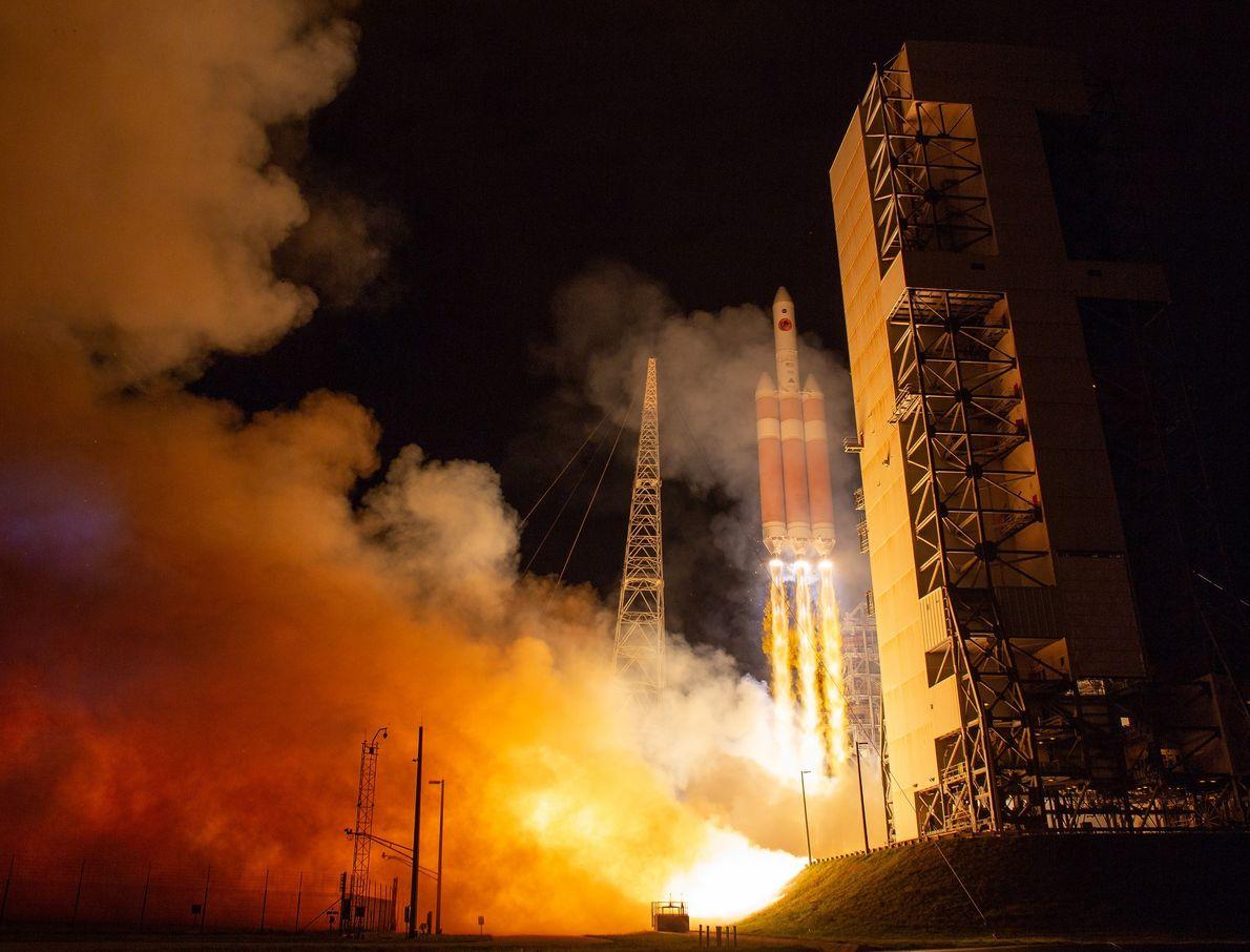 Am 12. August startete die NASA-Raumsonde Parker Solar Probe ihre Reise zur Sonne. Außerdem wurde die ...