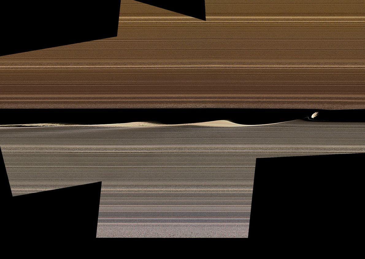 Saturnmond Daphnis