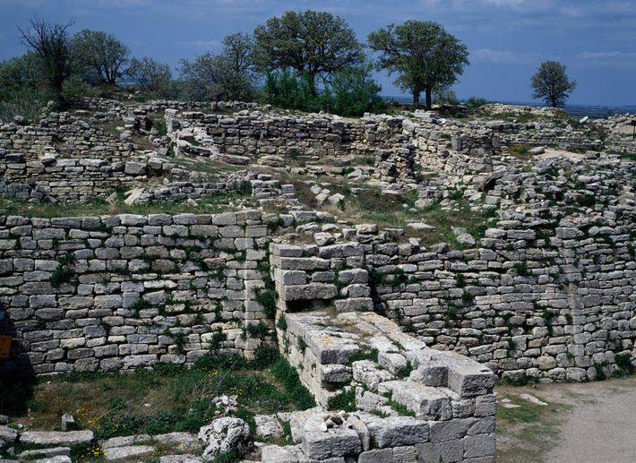Ruinen der trojanischen Zitadelle