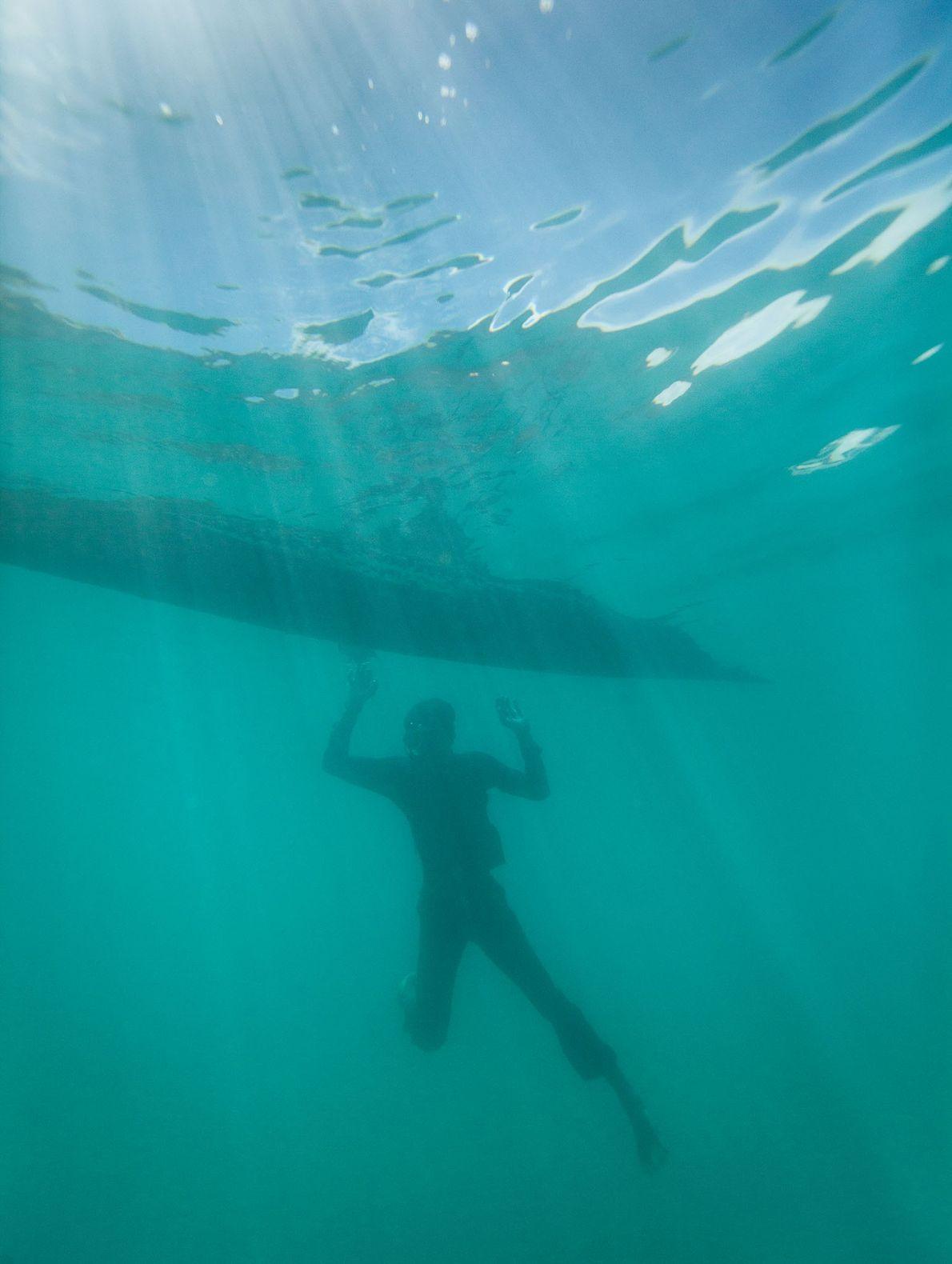 Fischer der Bajau