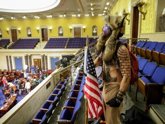 Bilder eines Angriffs auf die Demokratie: Als der Mob das Kapitol stürmte