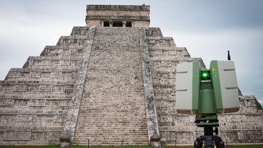 Galerie: Archäologen suchen in alter Pyramide nach Spuren der Maya-Unterwelt