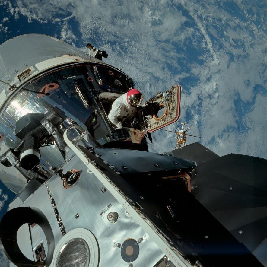 Astronaut Dave Scott
