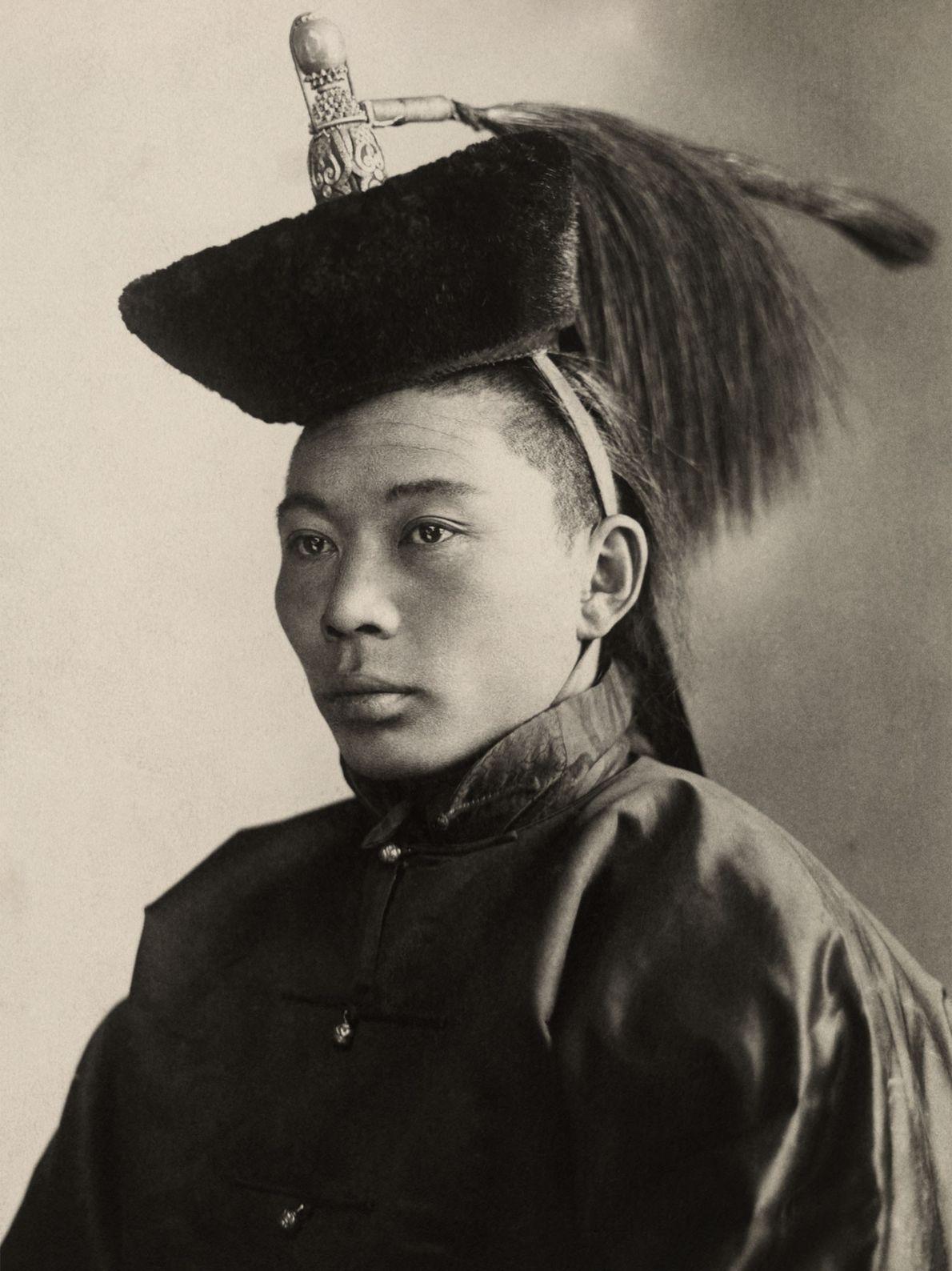 Ein junger mongolischer Prinz