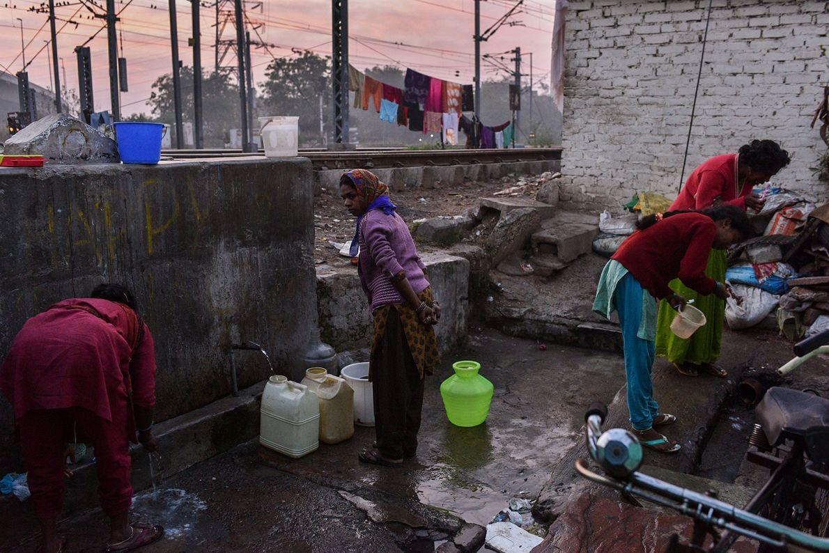 Toilettenbereich im Freien