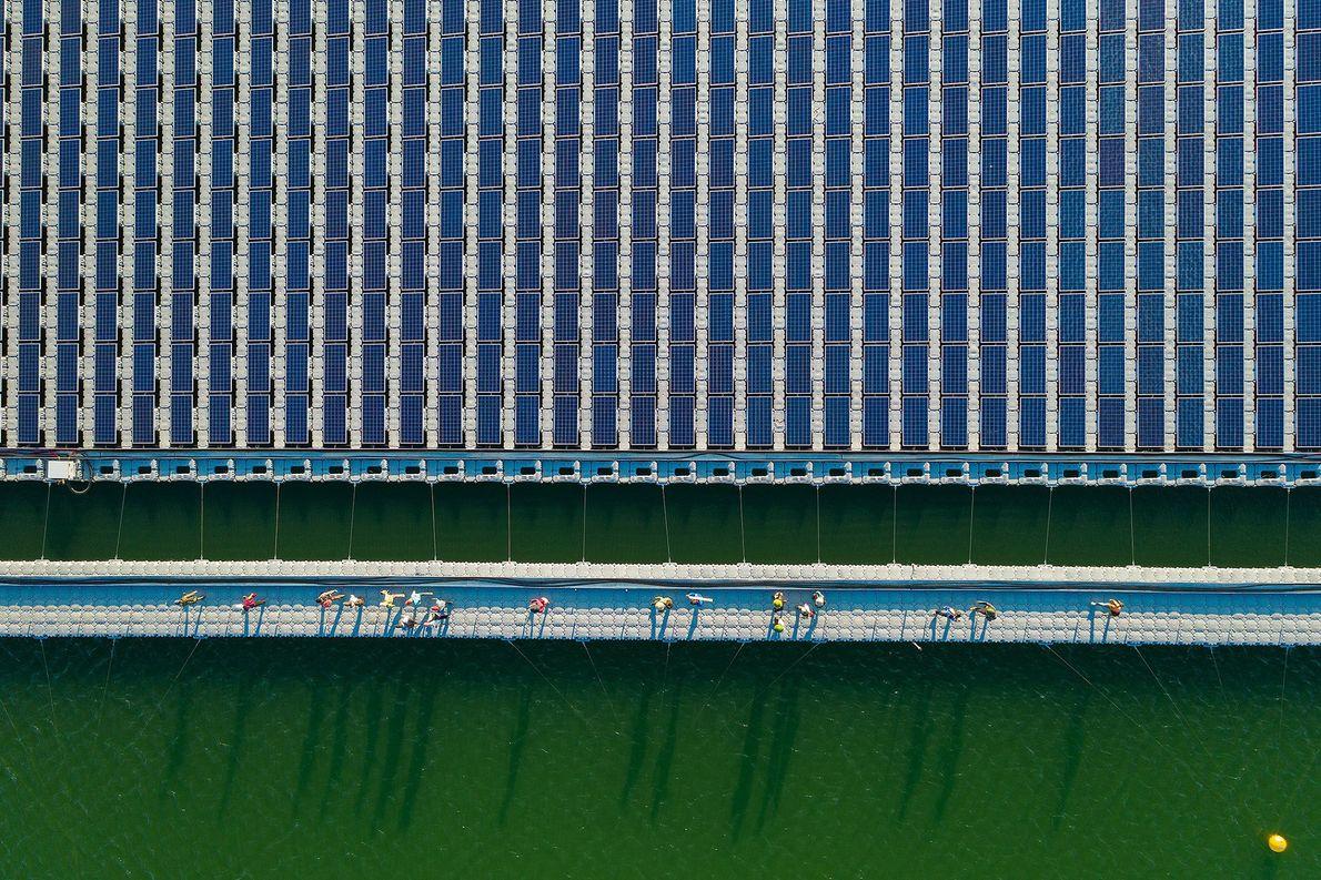 Solarkraftwerk in Zentralvietnam