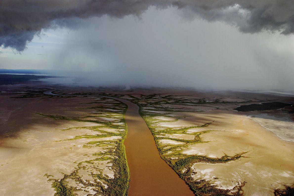 An Encroaching Storm