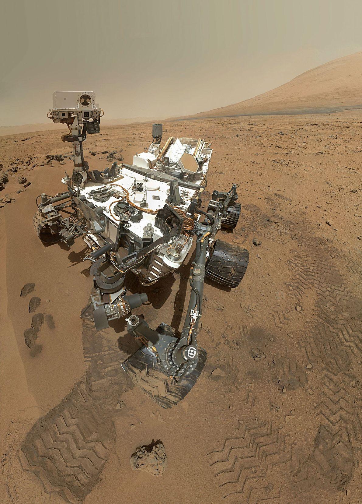 Mars-Selfie
