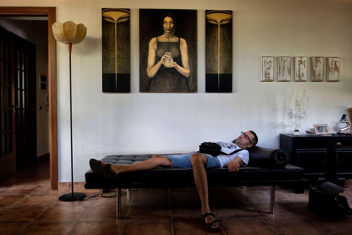 Andrea Trisciuoglio leidet an Multipler Sklerose