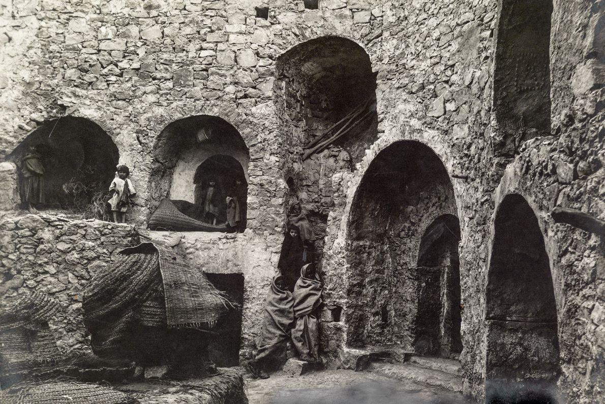 Wohnhöhlen in Matmata