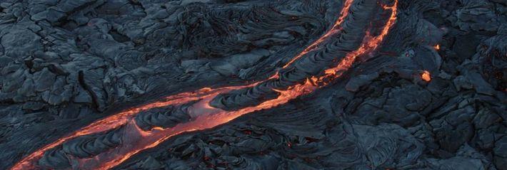 Lavafelder des Kīlauea