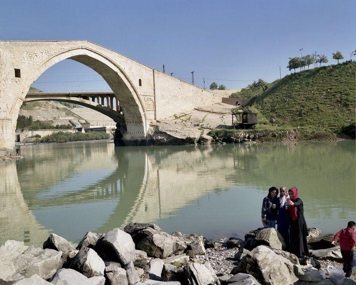 Antike Brücke von Malabadi
