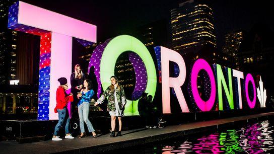 Toronto-Schriftzug