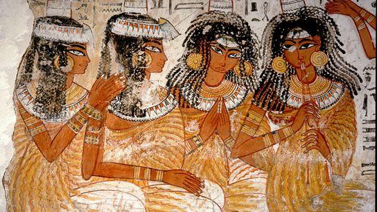 Bankettszene Altes Ägypten