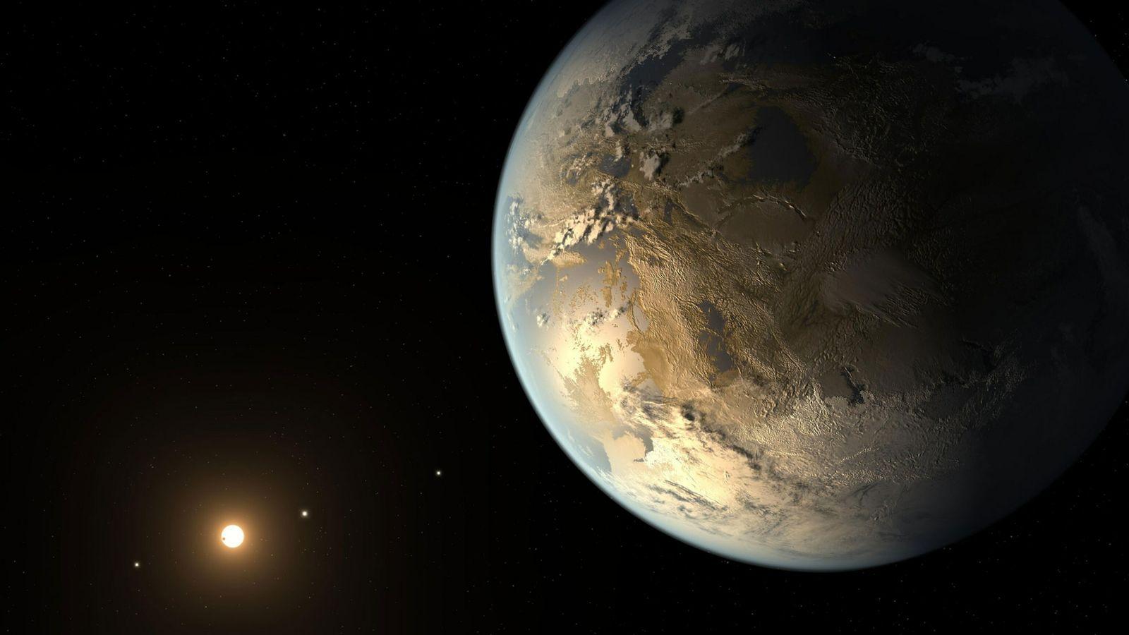 Kepler-186f war der erste erdähnliche Exoplanet, der in einer habitablen Zone entdeckt wurde.