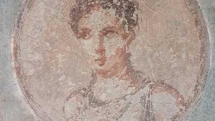 Neue Technik enthüllt antikes Porträt, das durch Vulkanausbruch verschüttet wurde