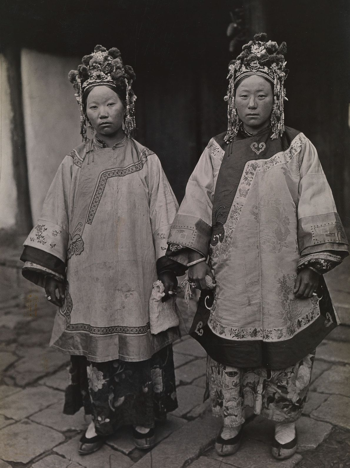 Zwei Nashi-Bräute