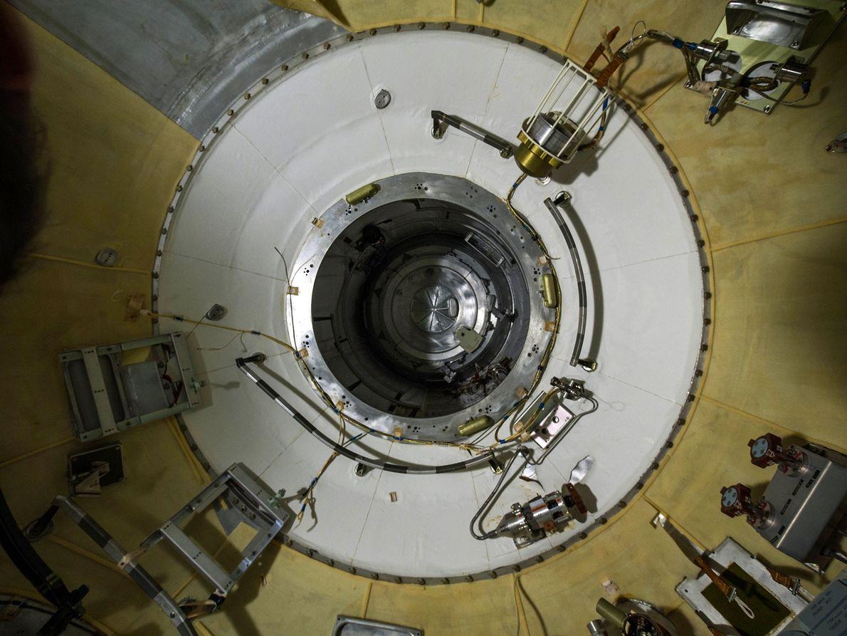 Bild einer russischen Raumfähre