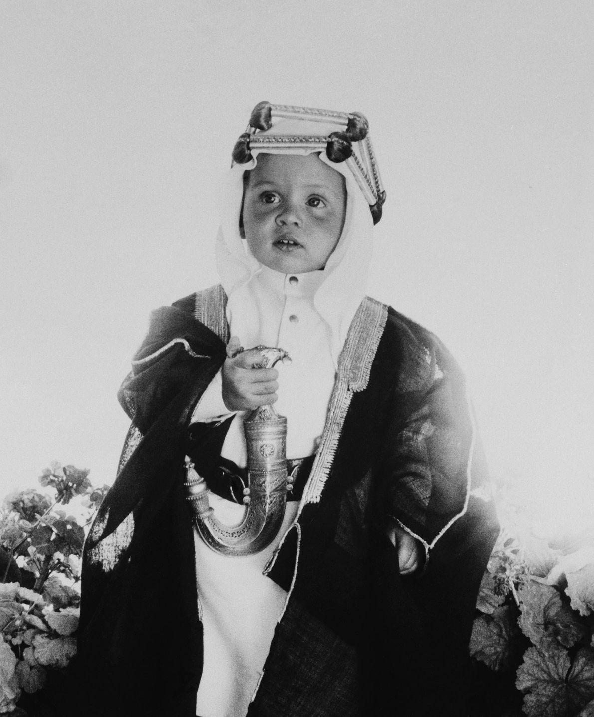 Kronprinz Abdullah II.