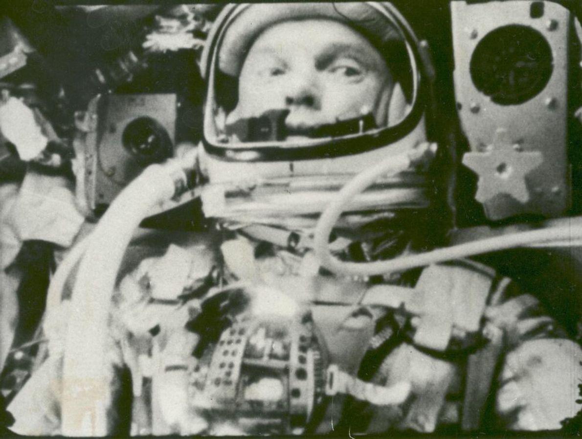 Als nächster war John Glenn an der Reihe, der am 12. Februar 1962 als erster amerikanischer ...