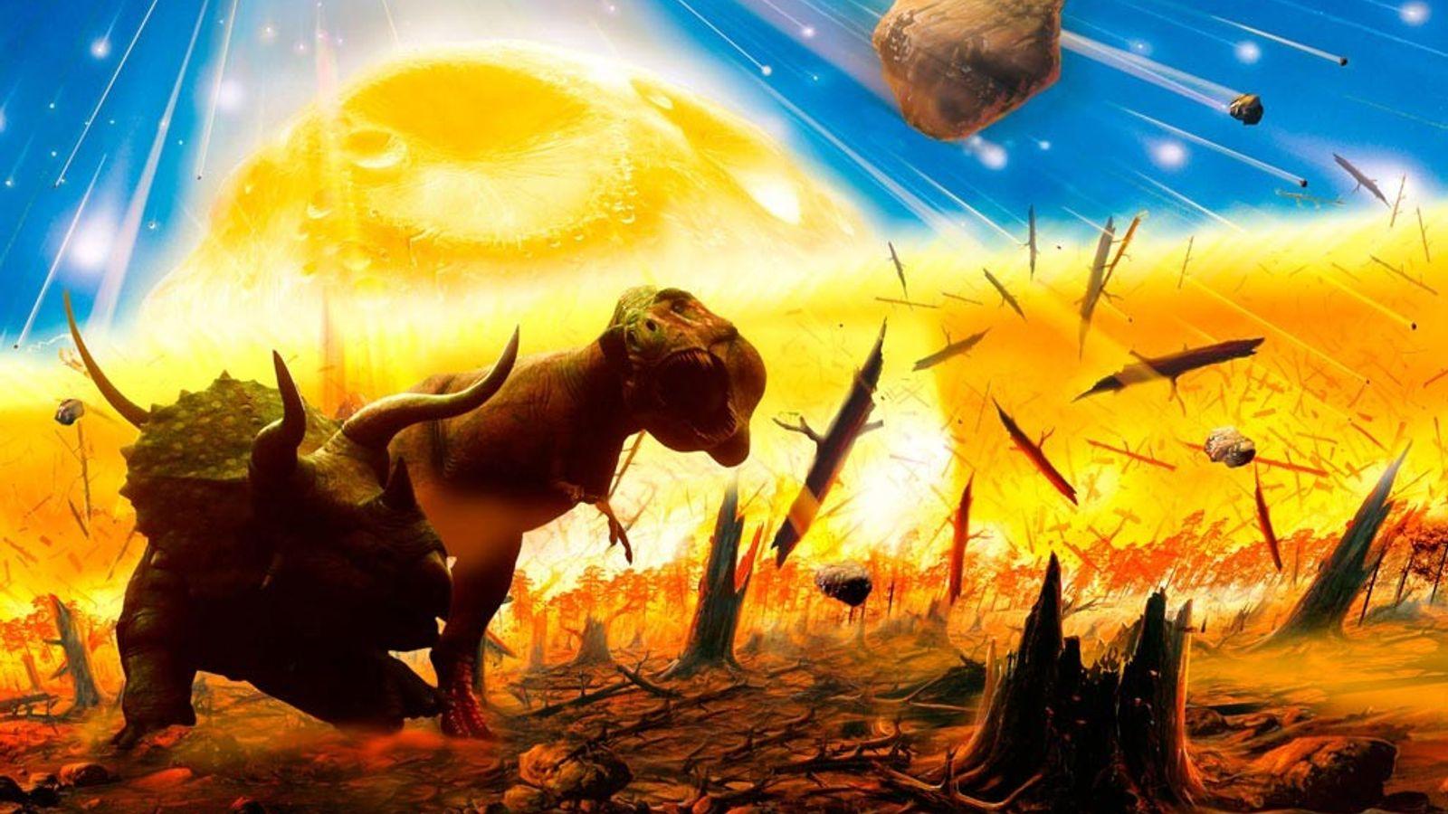 Der Asteroideneinschlag