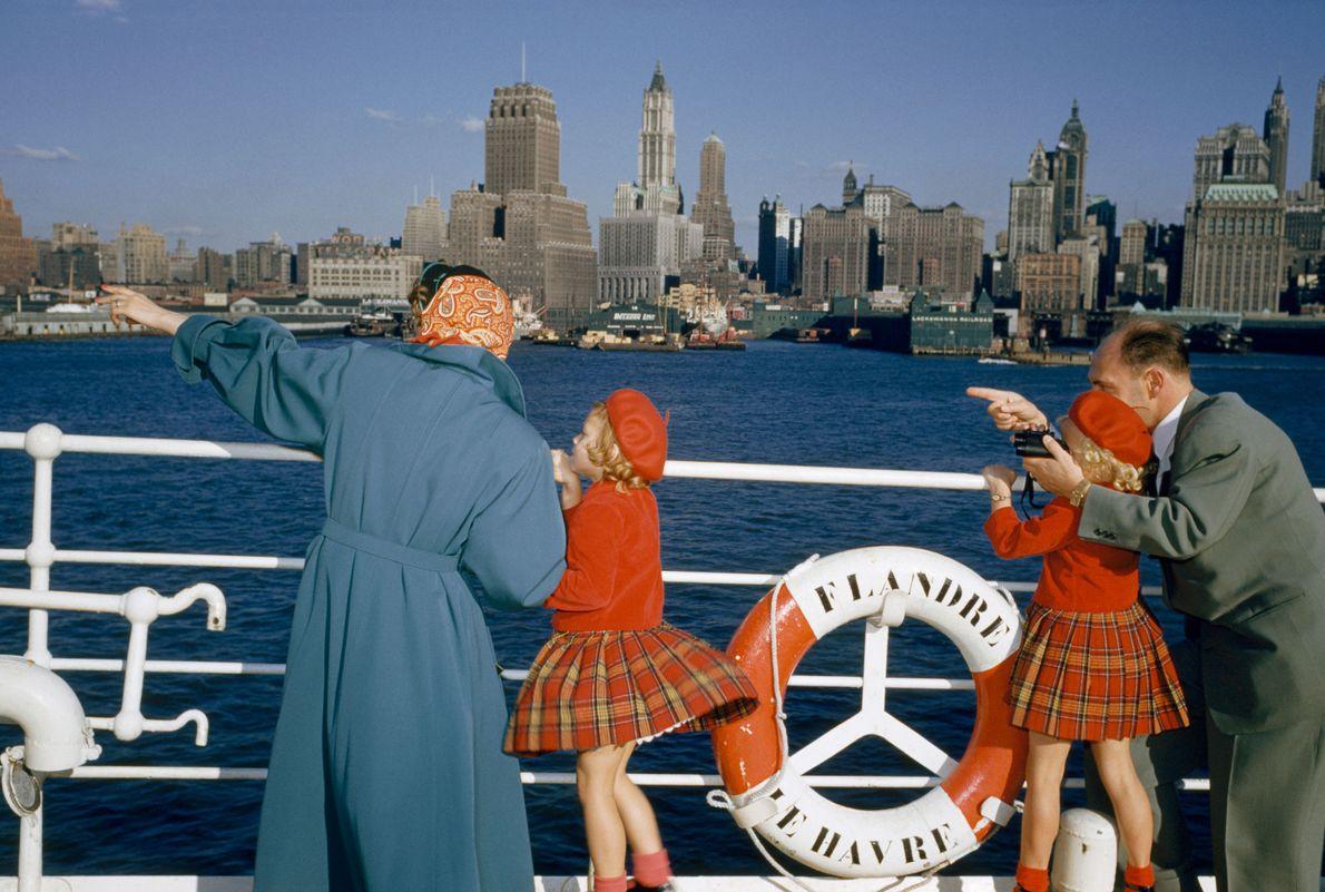 New York, United States: 1954