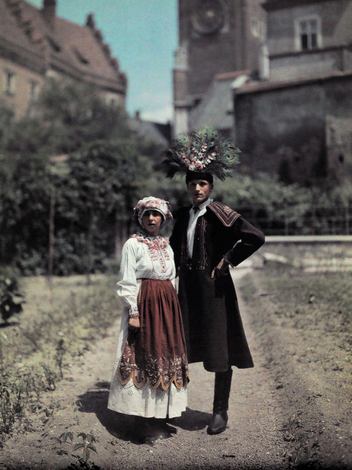 Polnisches Brautpaar