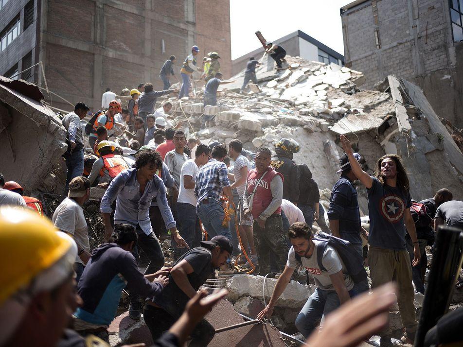 Galerie: Was löste das Erdbeben in Mexiko aus? Erklärung zu Verwerfungen