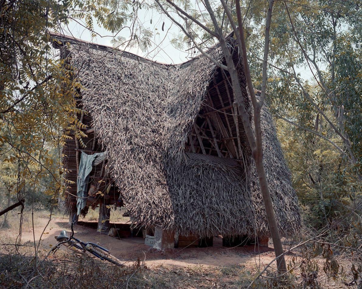 Hütten im Tamilstil
