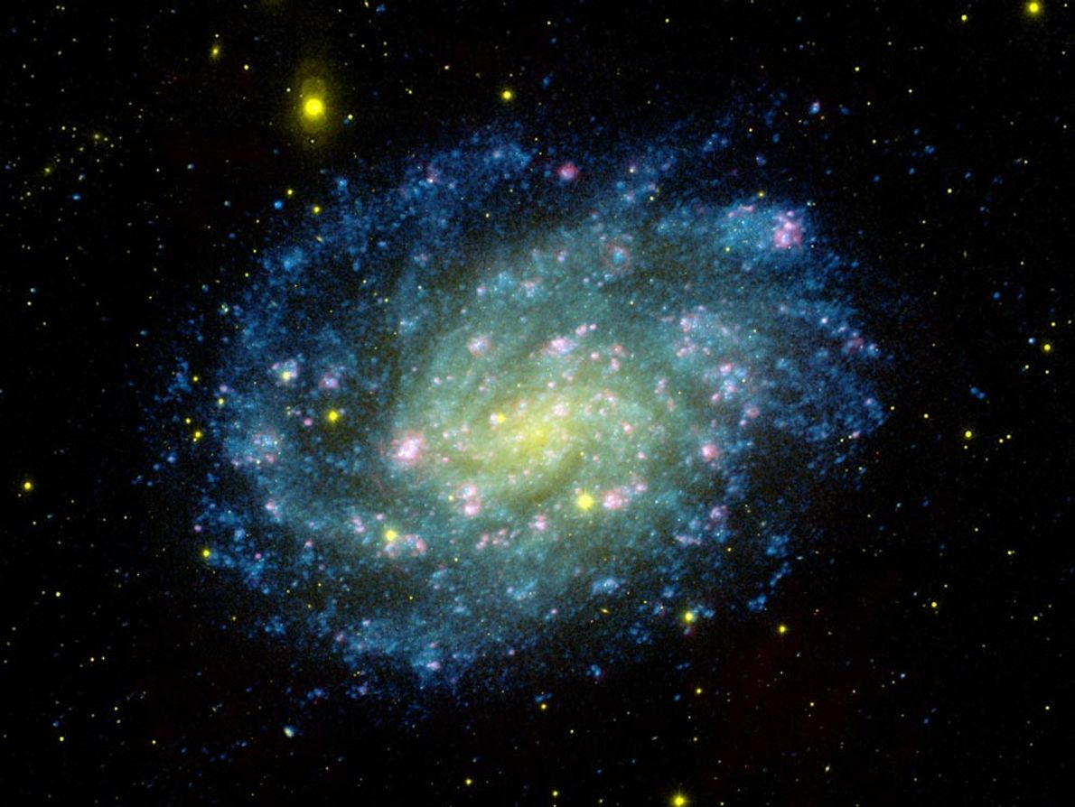 Spiralgalaxie NGC 300
