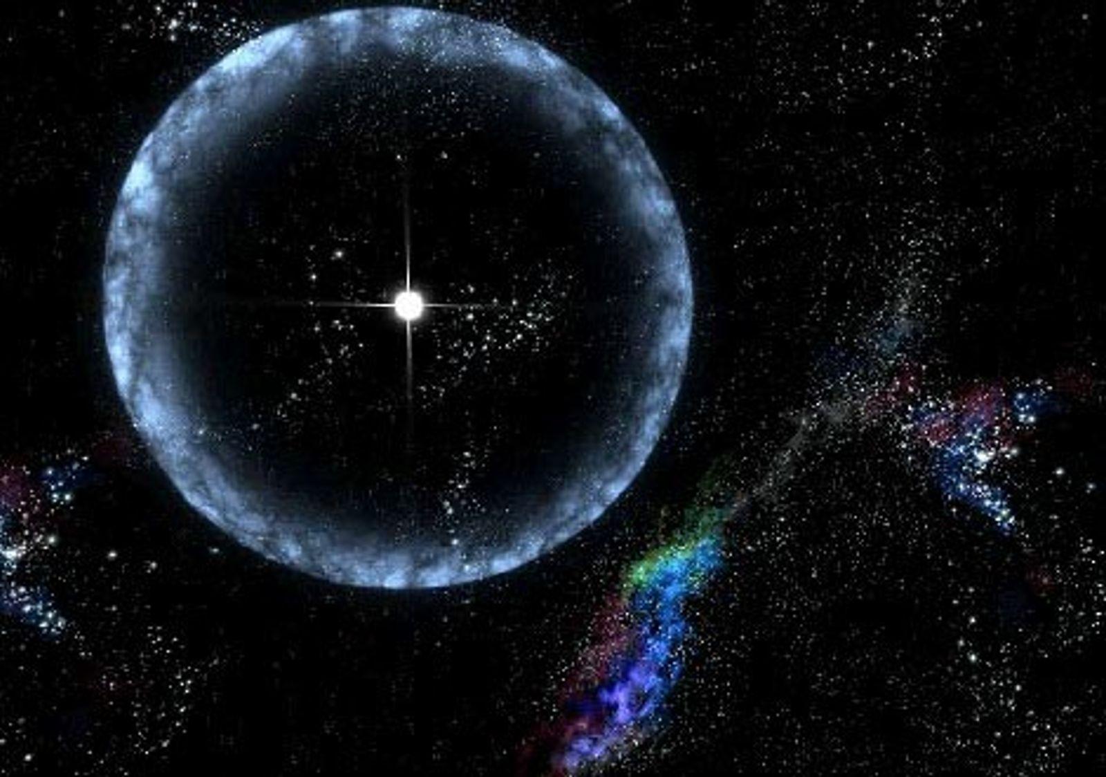 Galerie: Neue Raumzeit-Wellen offenbaren seltsame Schwarze Löcher