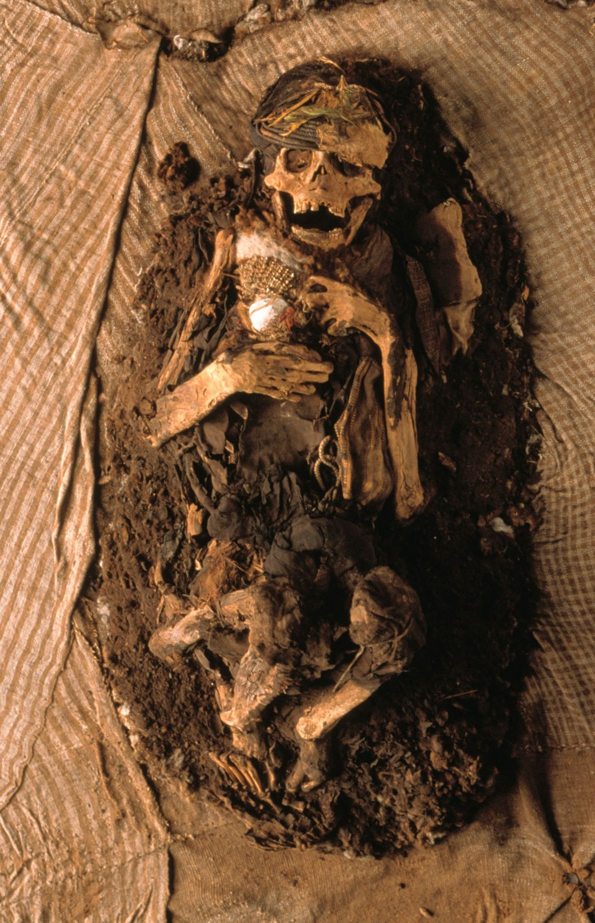 Inka-Mumie