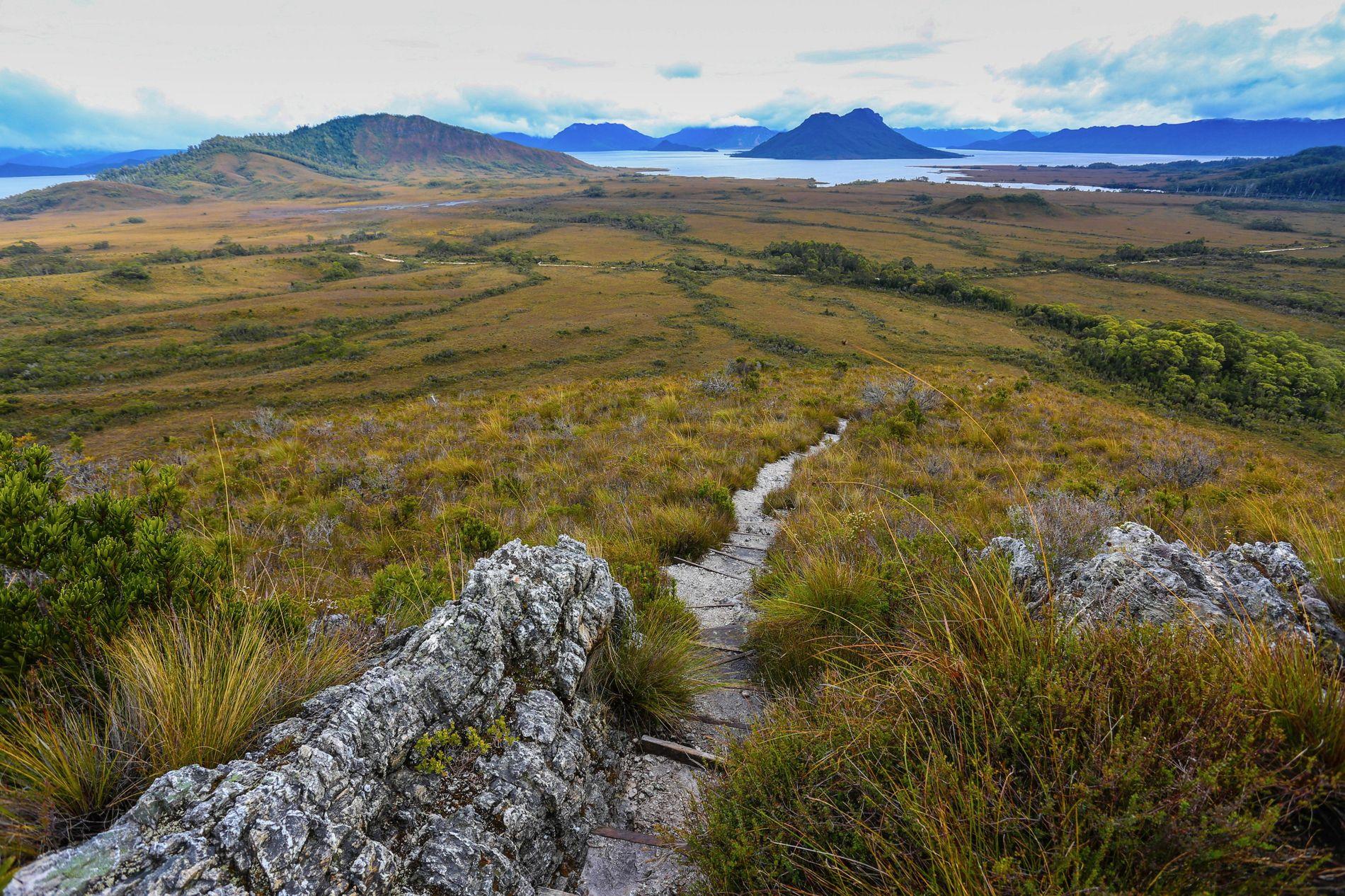 Lake Pedder &Mount Solitary