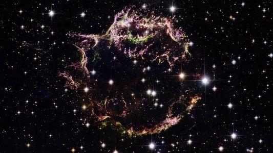 Galerie: Gewaltige Supernova blies Bausteine des Lebens ins All