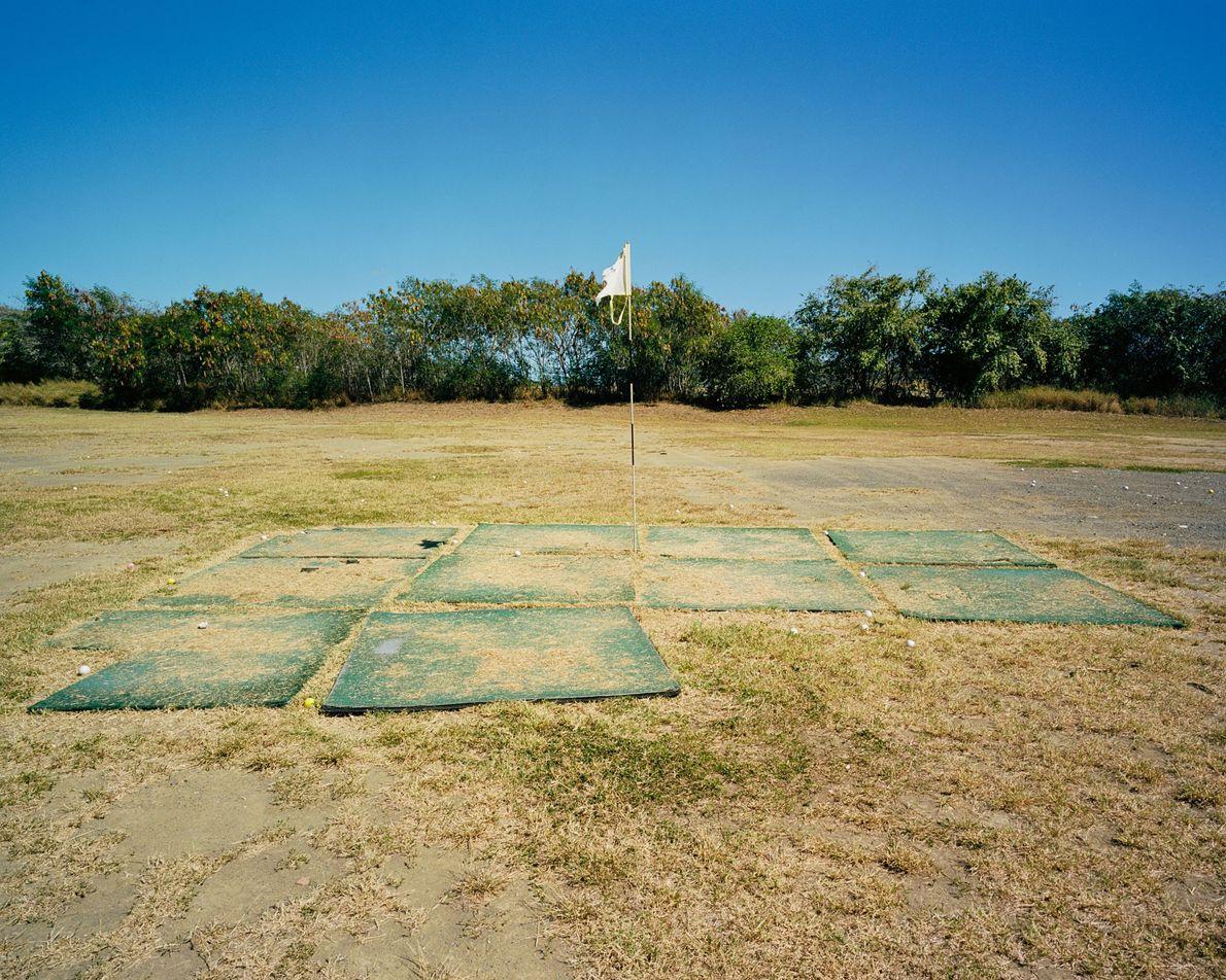 Golfübungsplatz