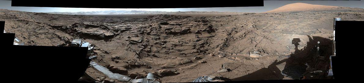 360°-Panorama der Oberfläche