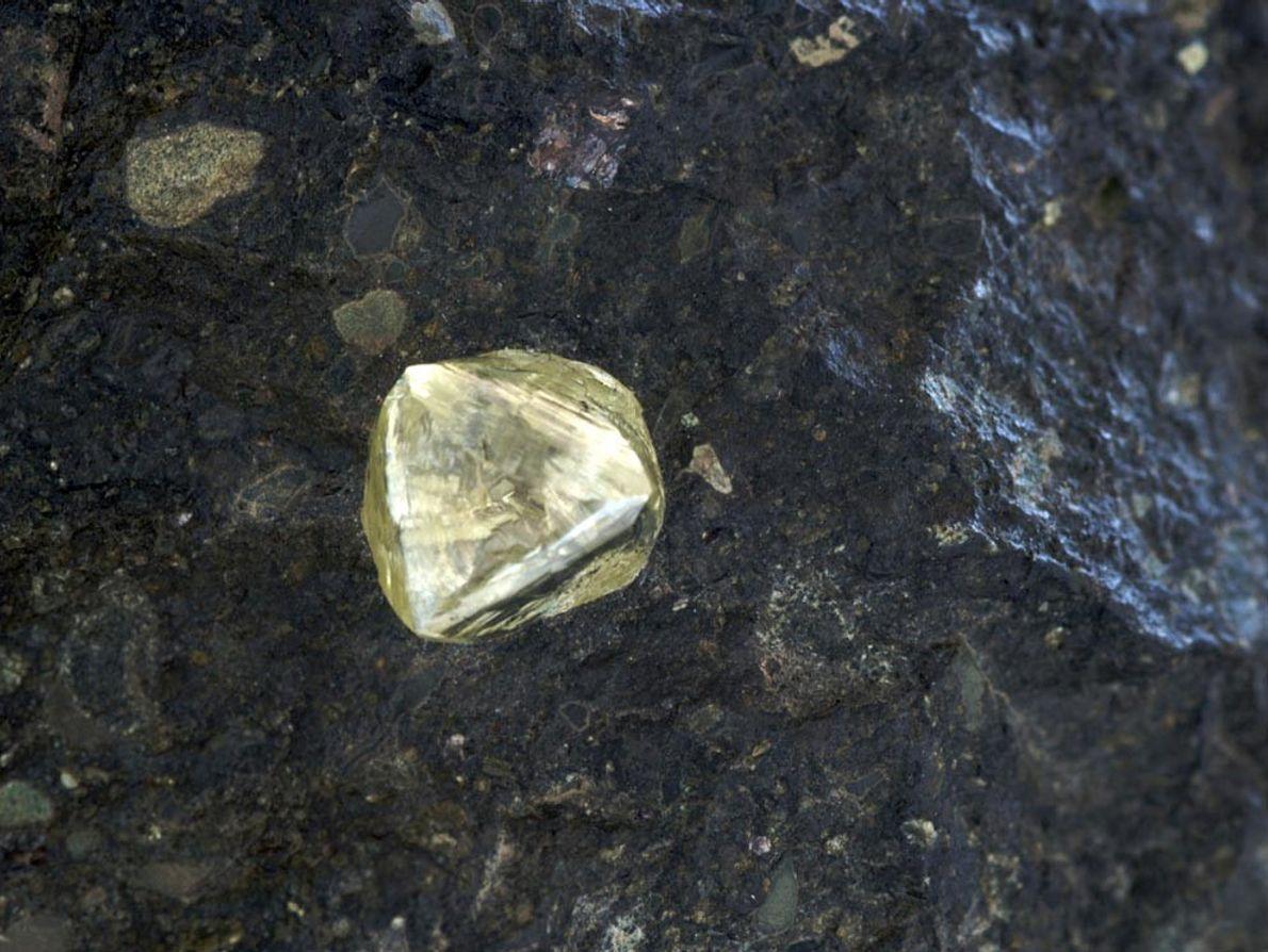 gelber Diamant