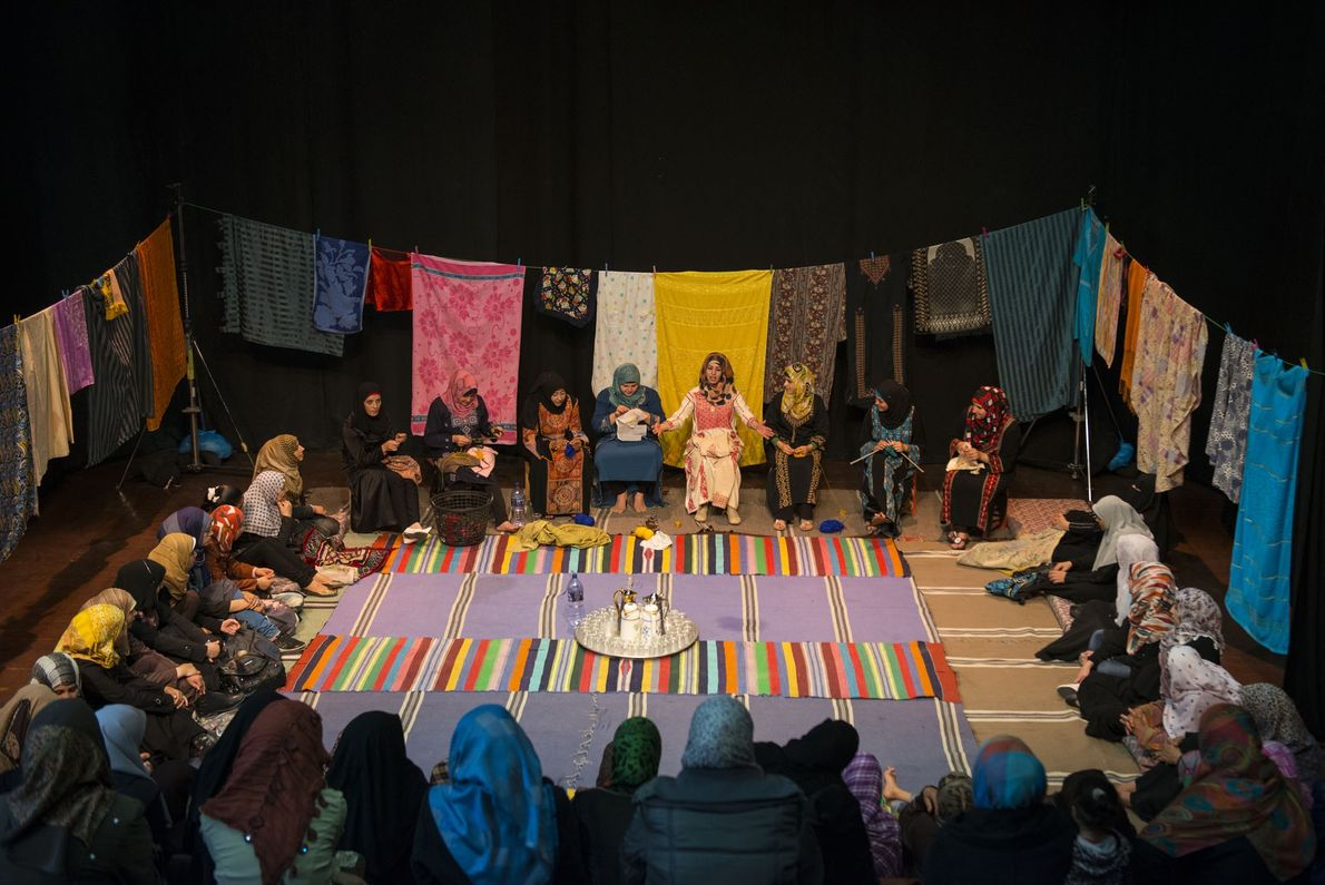 Theater in Gaza
