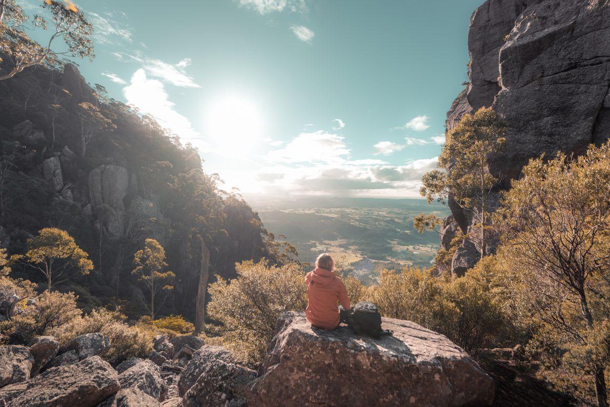 Aussicht vom Mount Roland