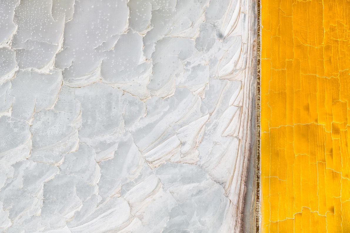 Gelb und Weiße Flächen