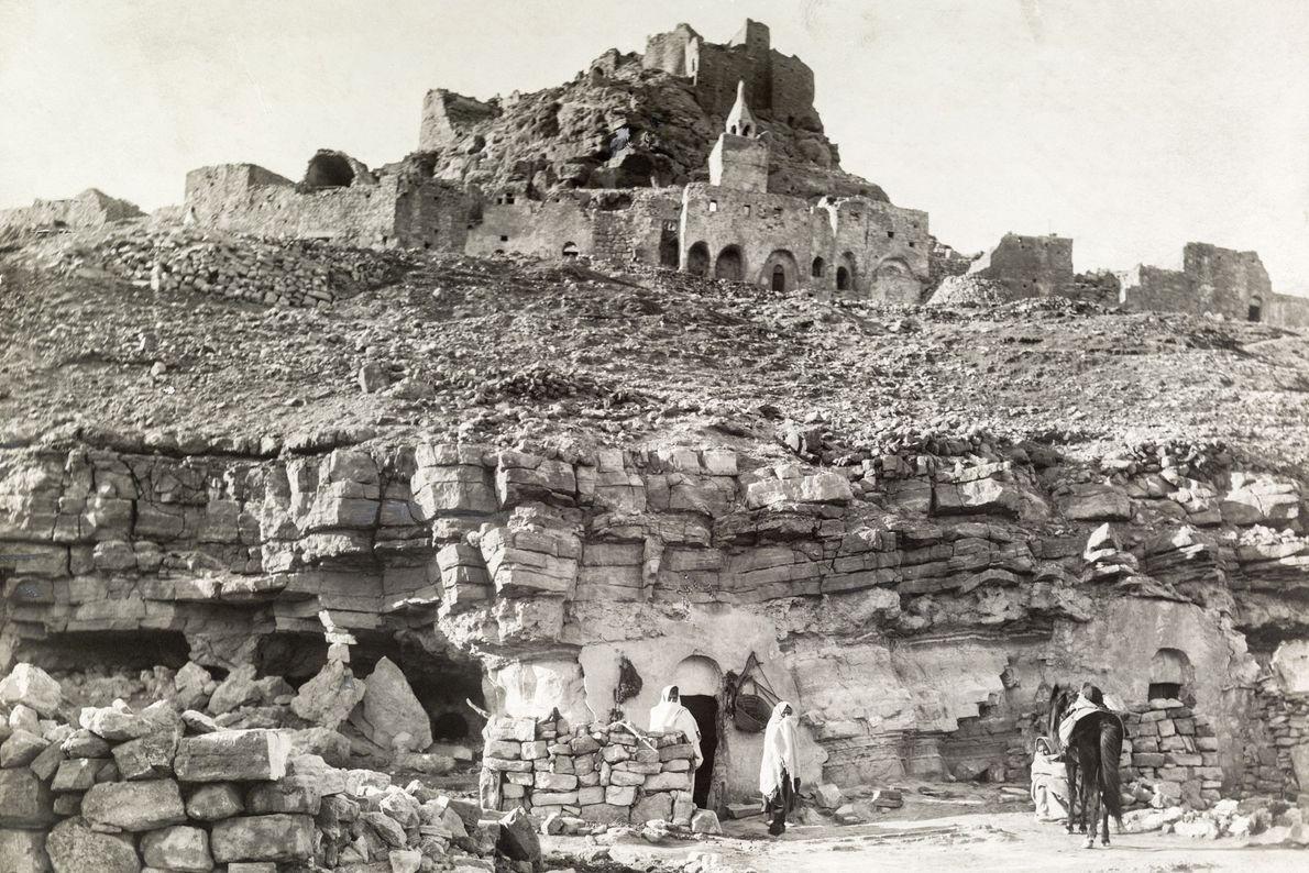 Höhlendorf im türkischen Douiret