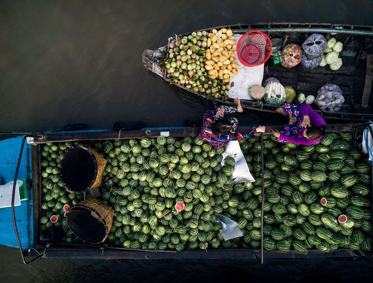Markt von Phong Điền