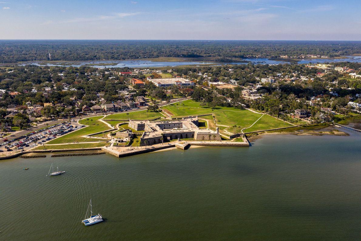 St. Augustine war 200 Jahre lang die Hauptstadt des spanisch besetzten Florida.