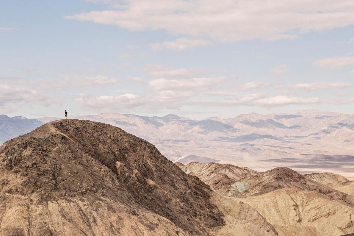 Gipfel des Canyon Trail im Death-Valley-Nationalpark