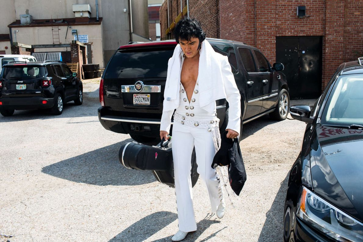 Elvis Tribute Artist Ben Portsmouth