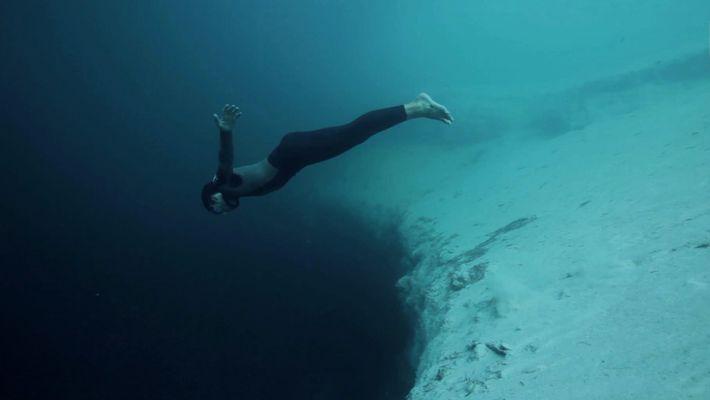 Freediving: Abtauchen ins Nichts