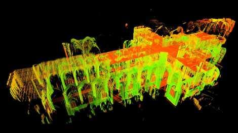 Laser entlocken Geheimnisse gotischer Kathedralen