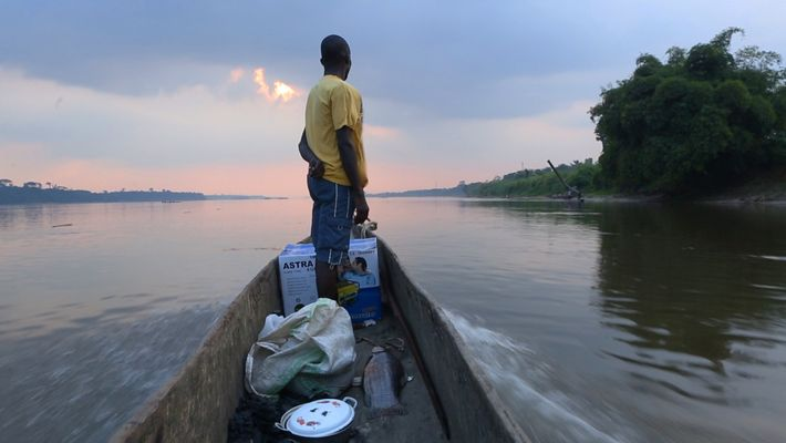 Das Leben auf dem Kongo in 60 Sekunden